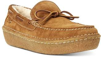 Polo Ralph Lauren Myles Shearling-Lined Suede Loafers