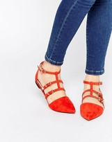 Asos LOLA Caged Pointed Ballet
