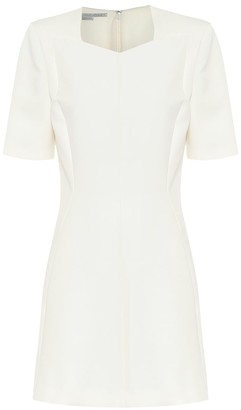 Stella McCartney Mercato wool-blend minidress