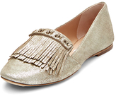 Diane von Furstenberg Alderny Fringed Smoking Slipper
