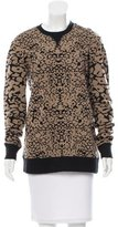 Rag & Bone Printded Crew Neck Swetaer