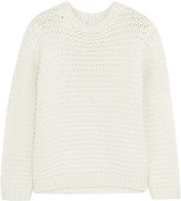 Brunello Cucinelli Sequined cashmere and silk-blend sweater