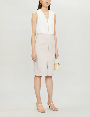 Ted Baker Annise sleeveless woven midi dress