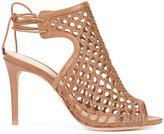 Alexandre Birman open-toe sandals - women - Leather - 36