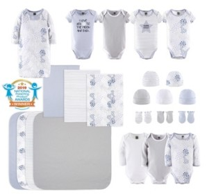 The Peanut Shell The Baby Boys and Girls 23 Piece To The Moon Layette Set