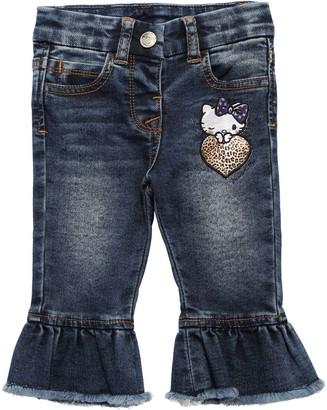 MonnaLisa Stretch Cotton Denim Jeans