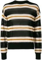 Laneus long sleeved stripe pullover