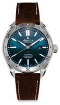 Alpina Sapphire Automatic Leather Watch