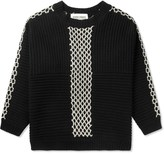 Henrik Vibskov Black Momo Knit Sweater