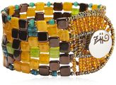 Ziio Pixel Orange Beaded Bracelet
