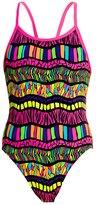 Funkita Girls' Serengeti Summer Single Strap One Piece Swimsuit 8148415