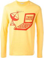 Stella McCartney Tomorrow print long sleeved T-shirt - men - Cotton - XS