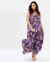 City Chic Arthouse Floral Maxi