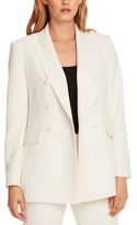 Vince Camuto Double-Breasted Open-Front Jacket