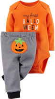 Carter's Halloween Bodysuit and Pants - Neutral Baby newborn-24m