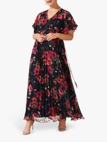 Studio 8 Lydia Floral Maxi Dress, Navy/Multi