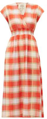 Ace&Jig Faye Picnic Checked Cotton Dress - Womens - Red