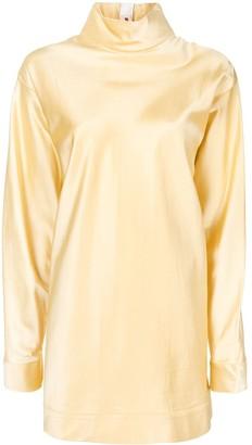 Marni High-Neck Long-Sleeve Tunic