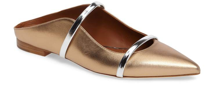 Malone Souliers Maureen Pointy Toe Flat