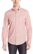 Ben Sherman Men's Long Sleeve Grindle Button Down Shirt