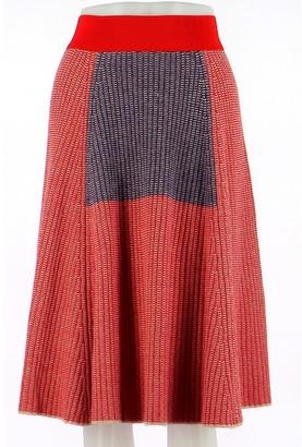 Antik Batik Red Skirt for Women