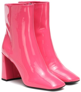 Prada Patent-leather ankle boots