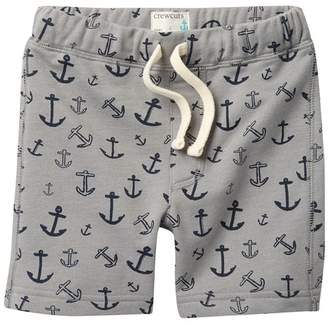 J.Crew J. Crew Anchor Print Sweat Shorts (Toddler & Little Boys)