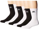 adidas Originals Trefoil Crew Sock 6-Pack Men's Crew Cut Socks Shoes