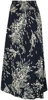 Izabel London *Izabel London Navy Printed Maxi Skirt