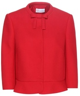 RED Valentino Cropped crêpe jacket