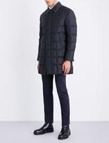 Thom Browne Down-filled wool-twill coat