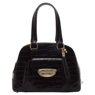 Lancel Adjani Black Leather Handbags