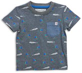 Sovereign Code Boys' Whale & Sailboat Pocket Tee - Baby