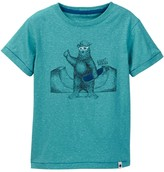 Lucky Brand Skater Bear Tee (Toddler Boys)