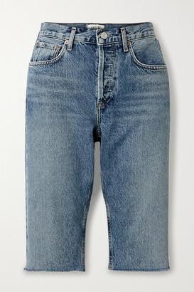 A Gold E Carrie Denim Shorts - Light denim