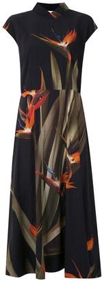 OSKLEN Strelitza print dress