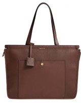 Louise et Cie Jael Leather Tote - Brown