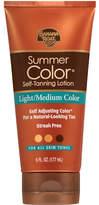 Banana Boat Sunless Summer Color Self Tanning Lotion, Light to Medium