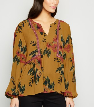New Look JDY Floral Chiffon Blouse
