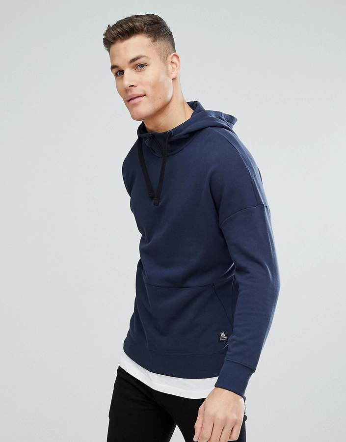 Tom Tailor Hoodie With Dropped Shoulder