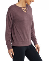 Balance Collection Women's Pullover Sweaters H. - Heather Flint Enza Crisscross Pullover - Women