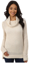 DKNY Turtleneck Yarn Mix Pullover