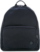 Giorgio Armani logo detail backpack - men - Acrylic/Polyamide - One Size