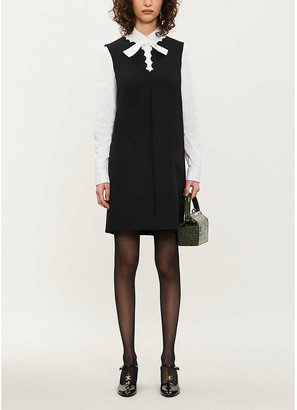 RED Valentino Sleeveless stretch-ponte dress