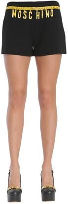 Moschino Logo Chain Effect Shorts