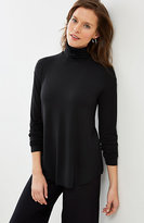 J. Jill Wearever Shirttail Turtleneck