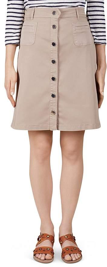 Gerard Darel Alabama Button-Front Skirt
