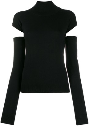Romeo Gigli Pre Owned 1990s cut-out detail jumper
