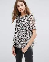 French Connection Bloomsbury Daisy Printed Top