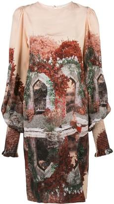 Fete Imperiale Narcisse silk dress